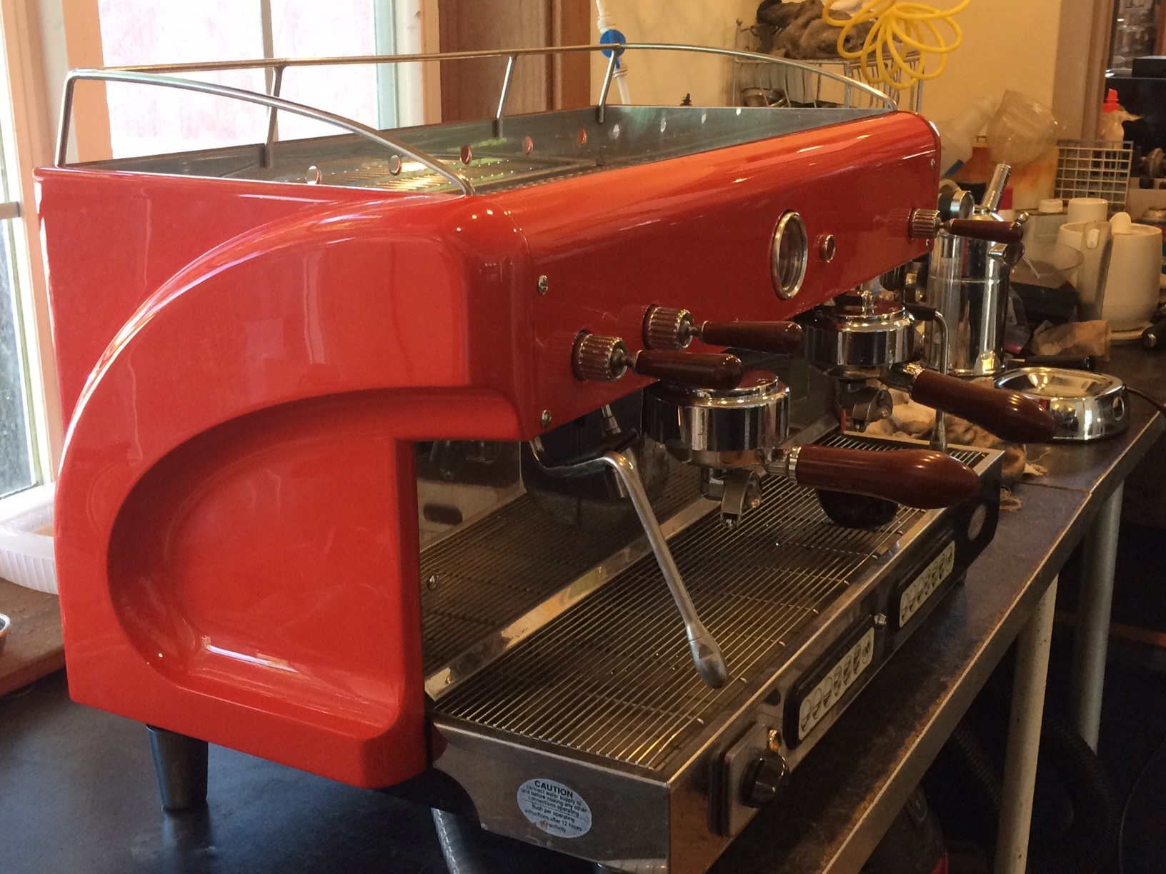 Our Elektra Maxi Espresso Machine