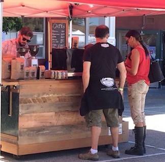 mobil catering espresso cart